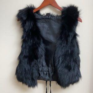 C. Luce Fox Fur Vest